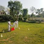 Cricket Match (Grade 7 A & B)-24-04-2016