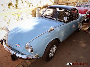 Blue Triumph Spitfire