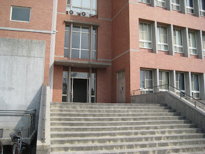 資訊大樓入口(後門)