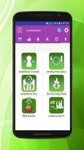 Steps Counter-Fitness & Calorie Counter Pedometer 1.4 screenshots 4