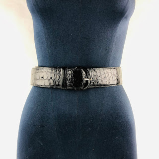Oscar de la Renta Alligator Belt