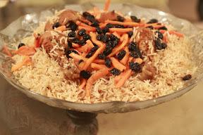 Kabuli Pulao an Afghani cuisine