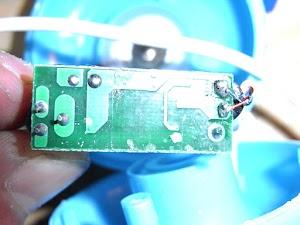 超音波加湿器の基板