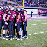 The Griz huddle up before the game.