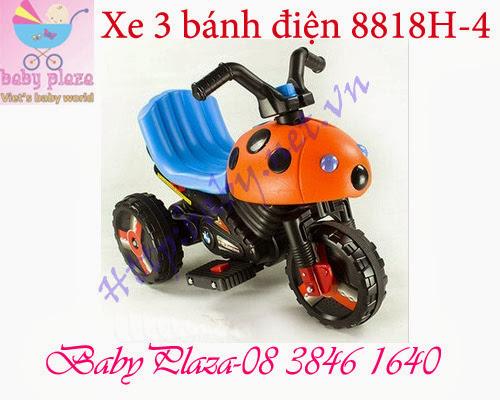 Xe điện 3 bánh trẻ em 8818H-4