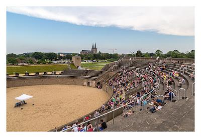 GeoXantike 2015 - Im Amphitheater