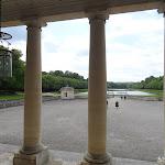 Château du Marais : entrée style palladien