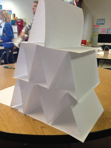 A DAY IN THE LIFE OF MISS KISER: Paper Tower Challenge!