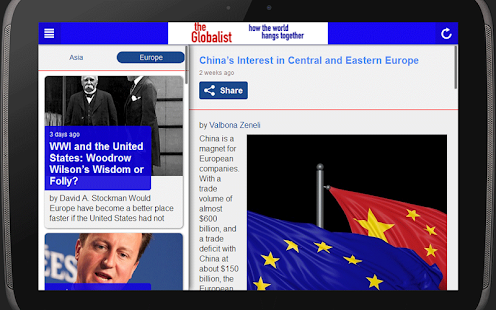 The Globalist- screenshot thumbnail