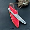 ručně kované nože z titanu s koženým pouzdrem (2)-001.JPG