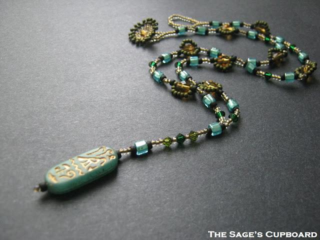 Jade Hieroglyph Pendant