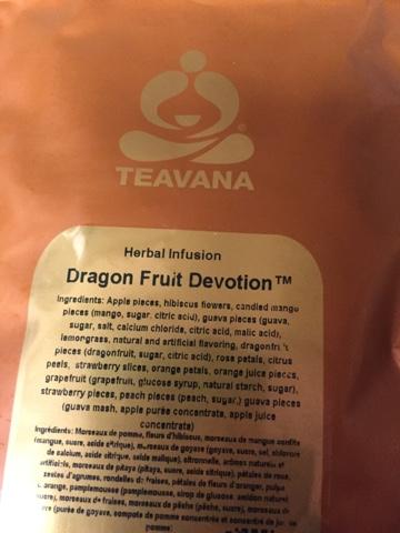 Kerrie's Cup of Tea: Teavana Dragon Fruit Devotion