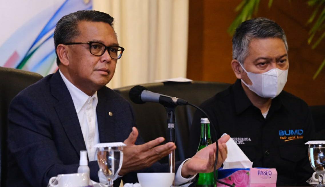 Gubernur Sulsel : Tidak Ada Alasan Perseroda Tidak Berkembang
