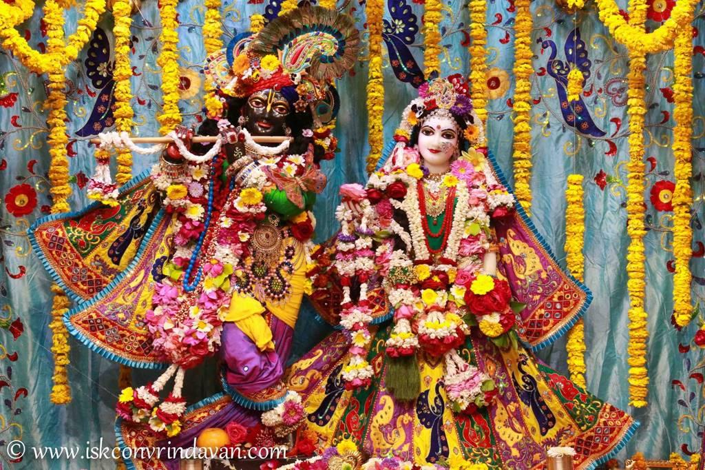 ISKCON Vrindavan Sringar Deity Darshan 28 Feb 2016 (11)