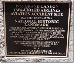 National Historic Landmark, Airplanes Crash, 1956