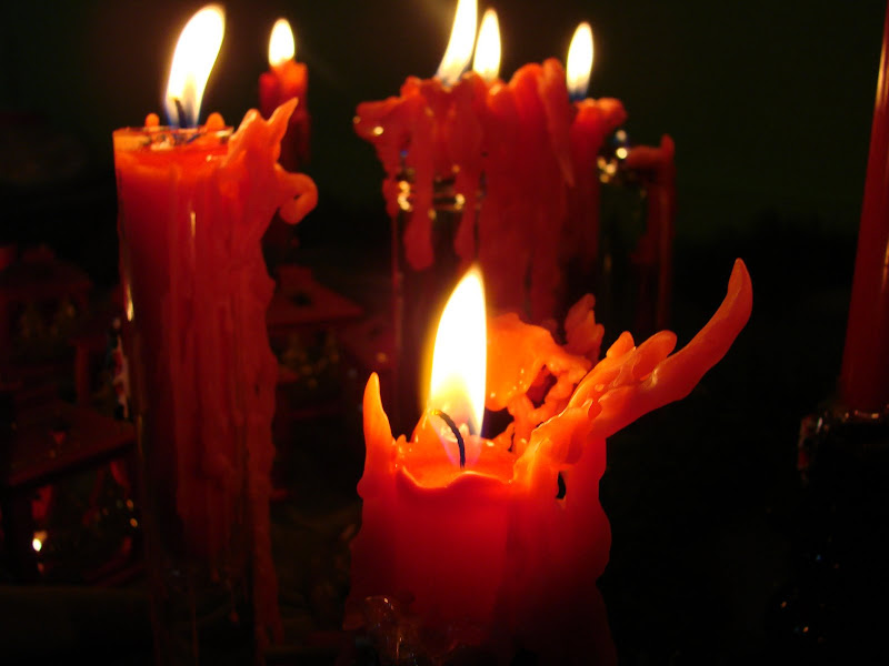 Red Candles Wallpapers, Candle Magic