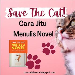 cara menulis novel Save the cat