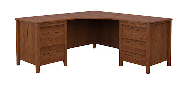 Florence L-Shaped Desk