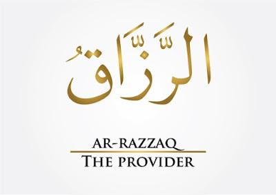 Maksud Nama Allah Ar-Razzaq