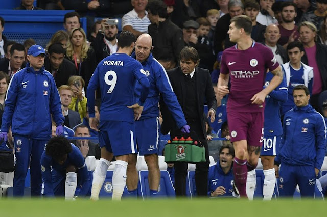Chelsea suffer fresh blow as Morata will miss up to six weeks