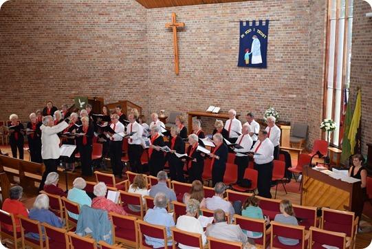 The Wistaston Singers perform at St Stephens Methodist  Church (1)