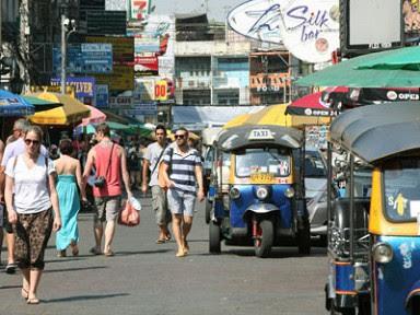 Тайланд, улицы