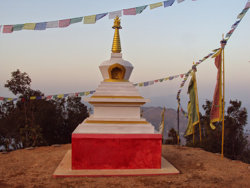 Stupa, Okhaldunga District, Nepal (built by Losang Namgyal Rinpoche)