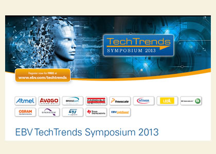 EBV Tech Trends Symposium 2013
