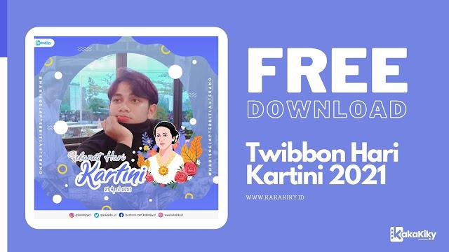 download twibbon hari kartini