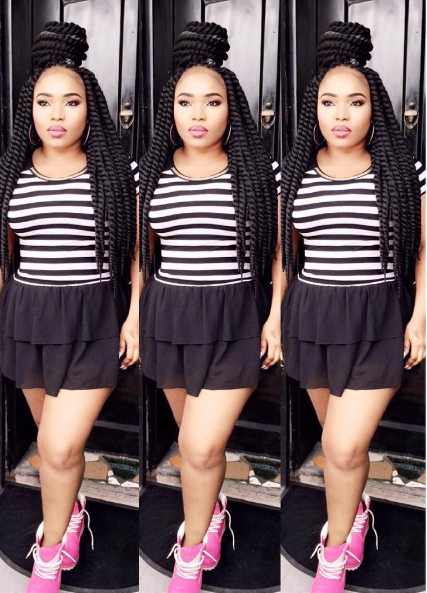 Photo: Actress Halima Abubakar Shows Off Her New Look