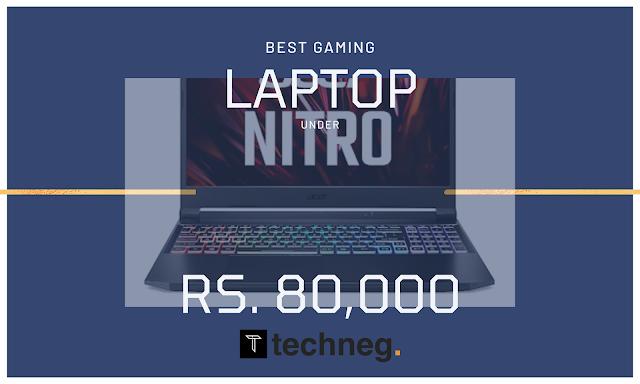 Best Gaming Laptop under 80000 in India