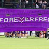 AFLW Fremantle v Brisbane Round 2 2017