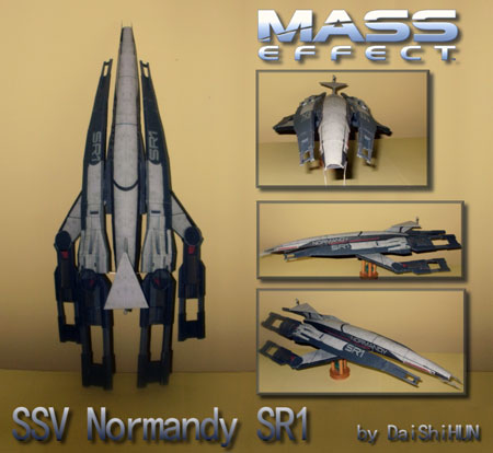 Mass Effect SSV Normandy Papercraft