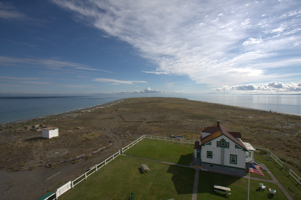 from the Sequim lighthouse