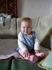 Вот как мы уже умеем сидеть! 7 месяцев и 19 дней