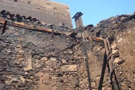 Rápida intervenção dos Bombeiros de Lamego evita que incêndio urbano na ( Rua da Olaria) zona histórica da cidade tome proporções maiores