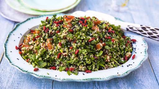 Quinoa Goji Tabbouleh
