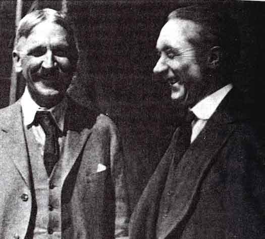 Frederick Alexander And Professor John Dewey, Frederick Matthias Alexander