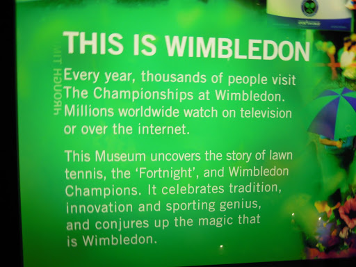 Wimbledon Tennis Museum.From Best Museums in London and Beyond