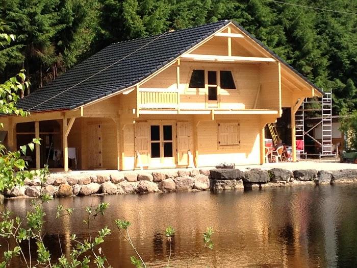 Maison bois en kit prix maison en bois en corse - Petit chalet en bois habitable ...