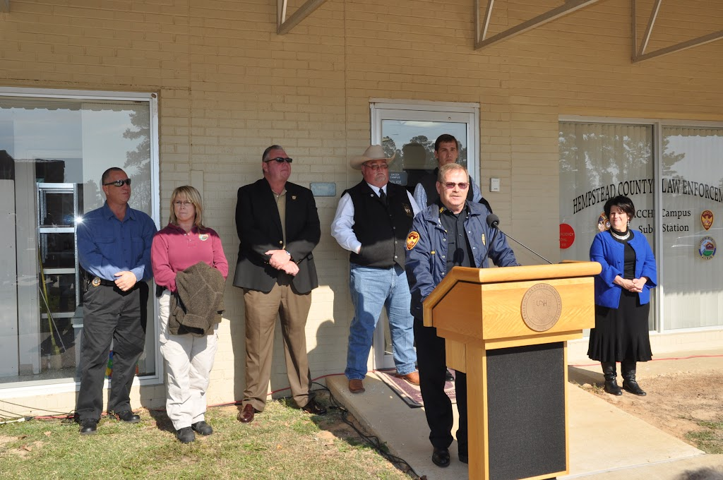 Hempstead County Law Enforcement UACCH Sub Station Ribbon Cutting - DSC_0071.JPG