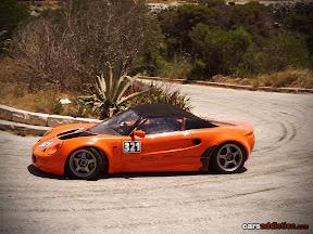 Orange Lotus Elise