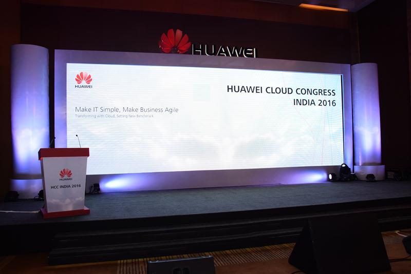 Huawei Cloud Congress India 2016 - 1