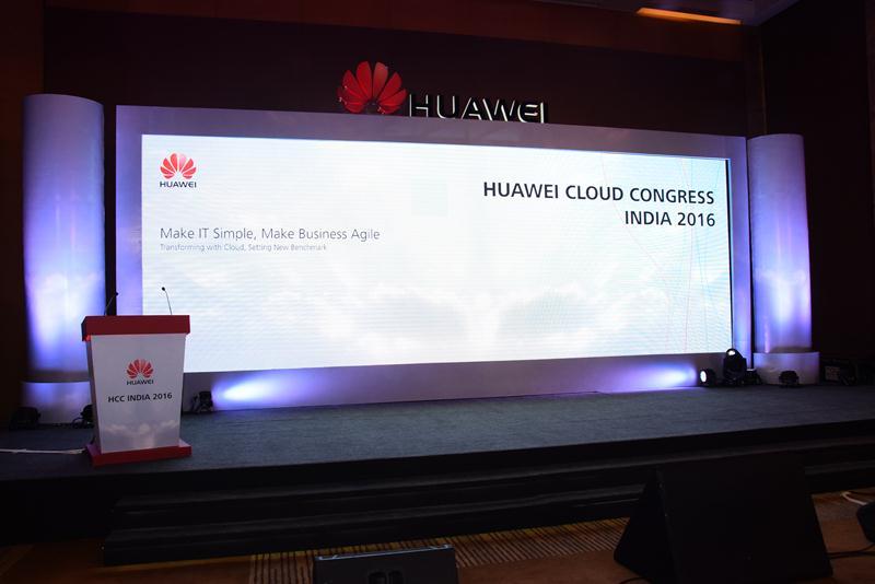 Huawei Cloud Congress India 2016 - 1
