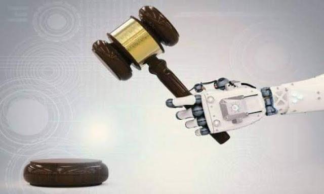 هل يحل الذكاء الاصطناعي مكان القاضي والمحامي