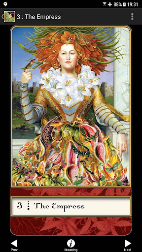 Screenshot for Boadicea's Tarot of Earthly Delights in United States Play Store