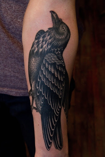 black birds tattoos