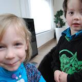 Poseren met mijn neefje Wannes