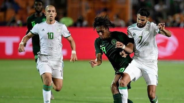 African Champion Algeria Defeat Super Eagles In Austria