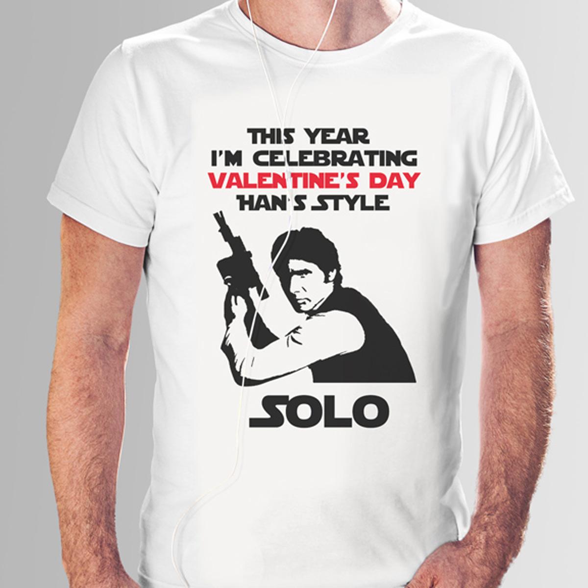 Han Solo Valentine on Tshirt